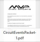 Tournament Directors Guide